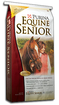 reiterman feed and supply purina equine senior horse feed