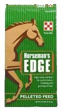 reiterman feed and supply purina horsemans edge pellet