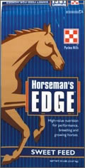 reiterman feed and supply purina horsemans egde sweet
