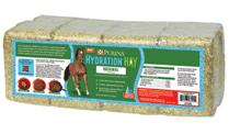 reiterman feed and supply purina hydration hay original horse hay block