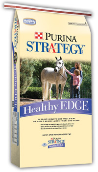 Reterman Feed and Supply Purina® Strategy® Healthy Edge® Horse Feed