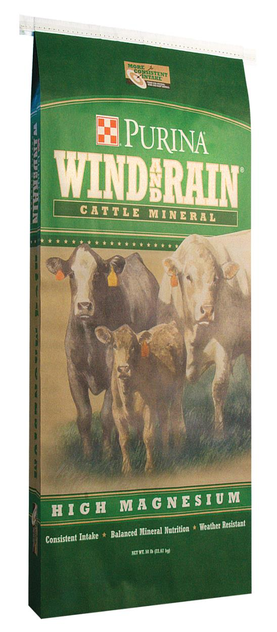 reiterman feed and supply purina wind and rain high magnesium minerals